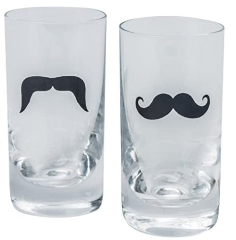Brilliant- la Moustache Shooter Glasses (6 pk)