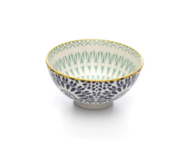 Brilliant- Jasper Paisley Blue Bowl, 10cm