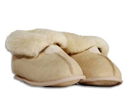 Auckland Sheepskin Slippers, Hemma - Ladies Tan