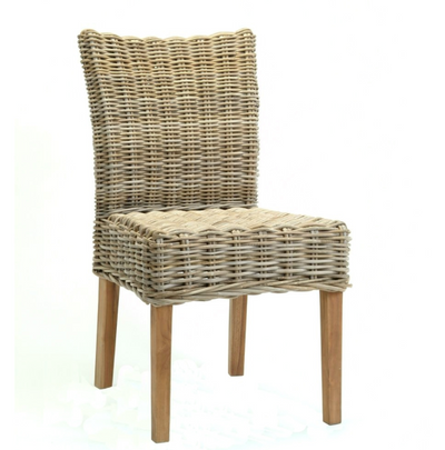 Bacon Basket- Rattan Low Back Chair