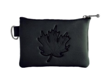 Coin Purse, Deerskin-Maple Leaf Collection