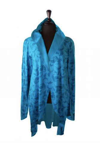 All-Over-Print Jacket, Hummingbird-Bill Helin