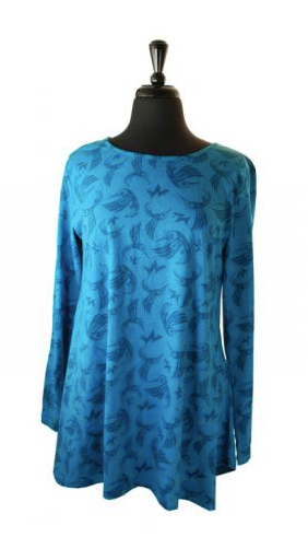 All-Over-Tunic, Hummingbird-Bill Helin