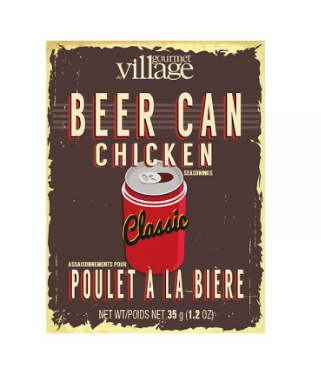 Beer Can Chicken Packet (Classic), Gourmet du Village