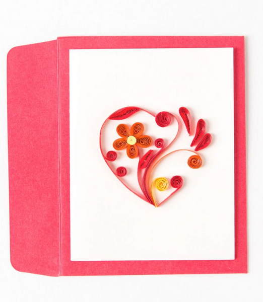 Quilling Cards- Hand-Crafted Mini Cards, Variety