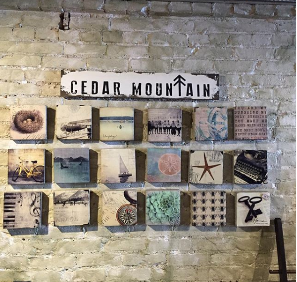 Cedar Mtn- Once Upon a Time Plaque