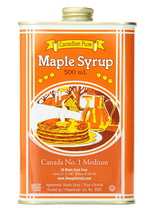 Maple Syrup, Tin, 100% Pure-Hatley