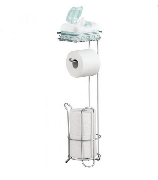 Interdesign- Toilet Paper Holder w/ Shelf