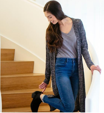 Carefree Threads- Long Cardigan