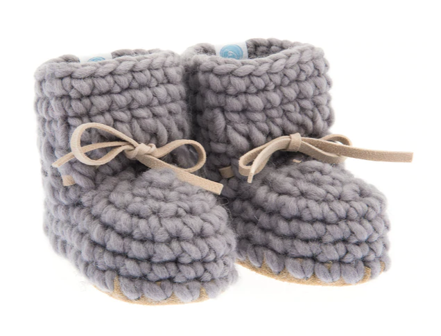 Beba Bean- Sweater Moccs, Grey