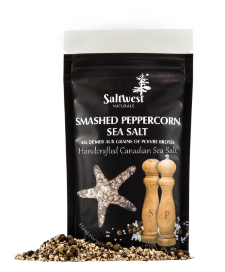 Saltwest- Smashed Peppercorn Sea Salt