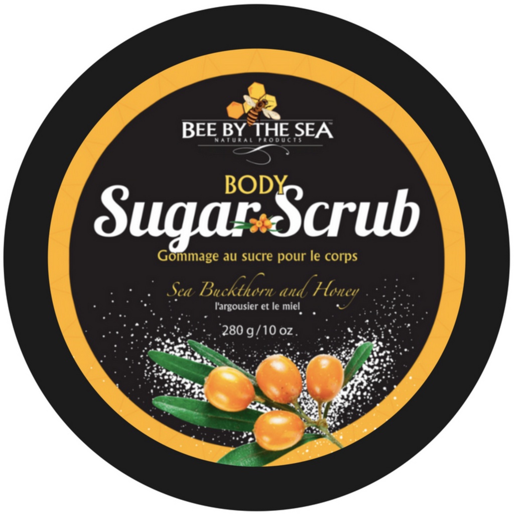 Bee By The Sea- Sea Buckthorn Sugar Scrub