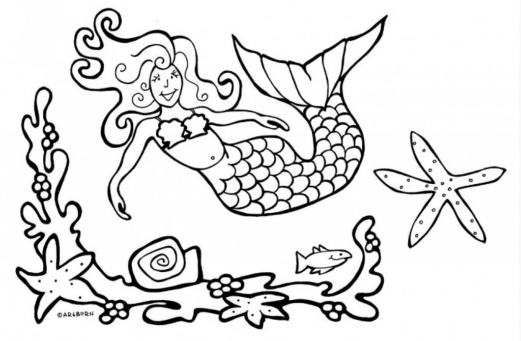 Pillowcase Painting Kit, Mermaid-Artburn