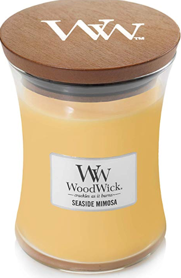 Woodwick/Crackling, Seaside Mimosa