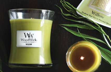 Woodwick- Crackling Candle-Willow