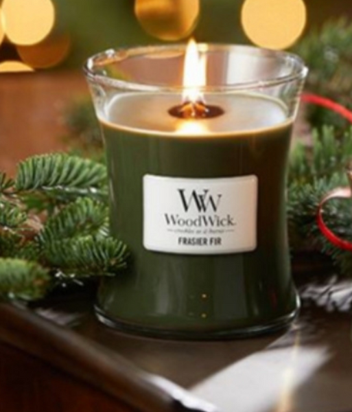 Woodwick/Crackling-Frasier Fir