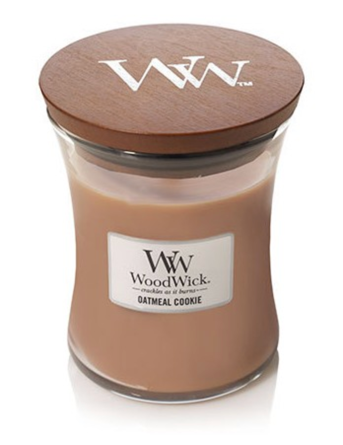 Woodwick- Crackling Candle - Oatmeal Cookie