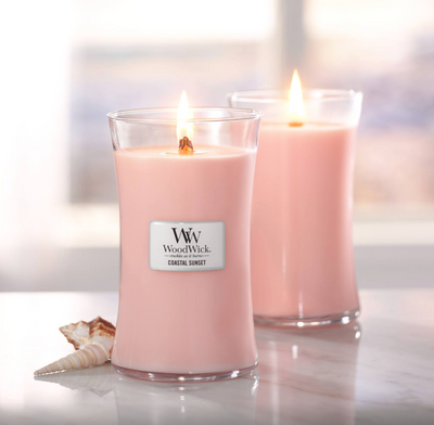 Woodwick- Crackling Candle - Coastal Sunset