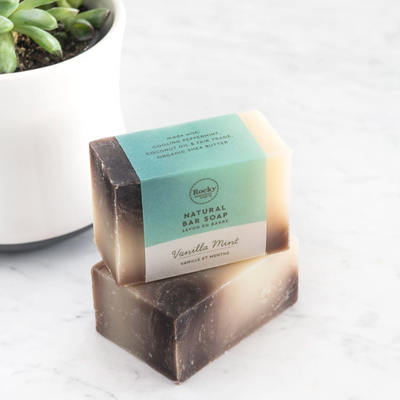 Rocky Mtn- Vanilla Mint Soap Bar