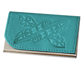 Business Card Holder, Hummingbird-Maynard Johnny Jr.