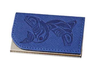 Business Card Holder, Whales-Paul Windsor