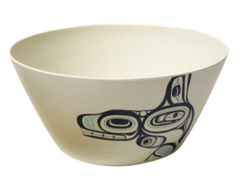 "Bamboo Bowl 5"", Whale-Ernest Swanson"