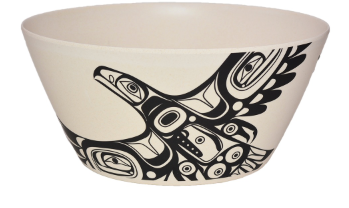 "Bamboo Bowl 5"", Soaring Eagle-Morgan Asoyuf"