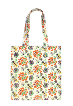 Native Northwest - Cotton Eco Tote - Bee & Blossoms