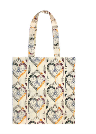 Native Northwest - Cotton Eco Tote - Healing EagleHeart