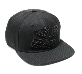 Snap Back Hat, Raven