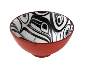 Ceramic Bowl, Raven/Small-Kelly Robinson