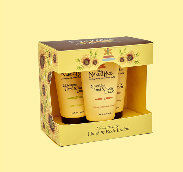 Naked Bee- Hand & Body Lotion Trio