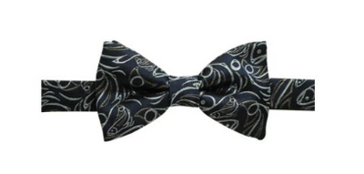Tie (Silk Bow), Salmon- Connie Dickens