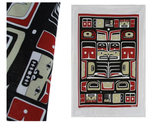 Tea Towel, Chilkat-Bill Helin