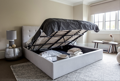 Style-in-Form Storage Bed/June Grey