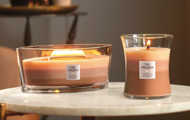 Woodwick- Crackling Candle - Trilogy-Golden Treats