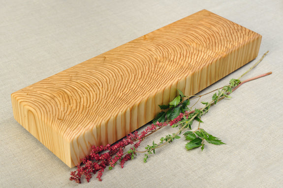 Larch Wood- Handcrafted Cutting Board Buffet