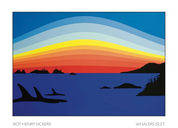 Art Card, Whalers Islet-Roy Henry Vickers