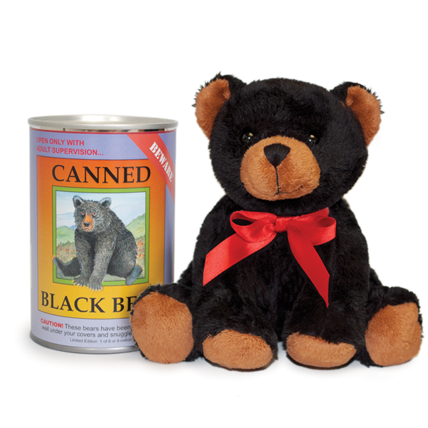 "Black Bear 6"" Canned Critter"