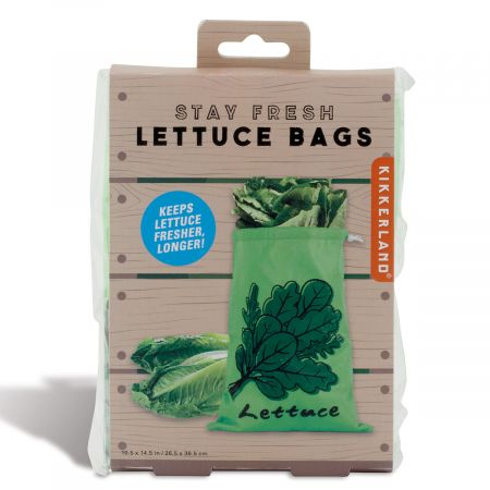 Kikkerland- Fresh Longer, Lettuce Bag