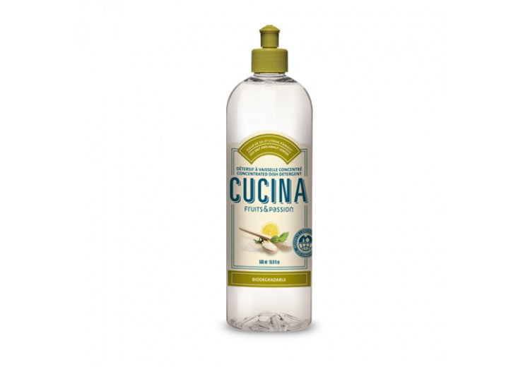 Cucina- Sea Salt and Amalfi Lemon Dish Detergent