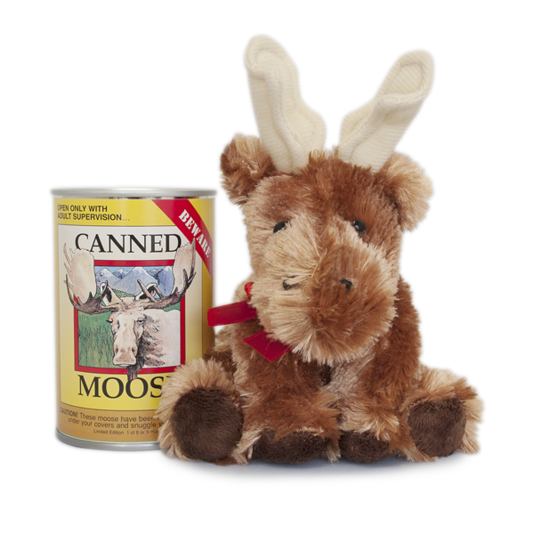 Canned Critters- Moose