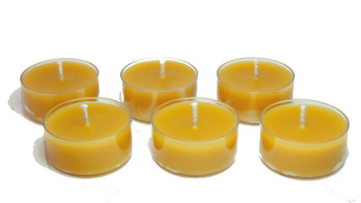 Beeswax, Tea Lights-Natural