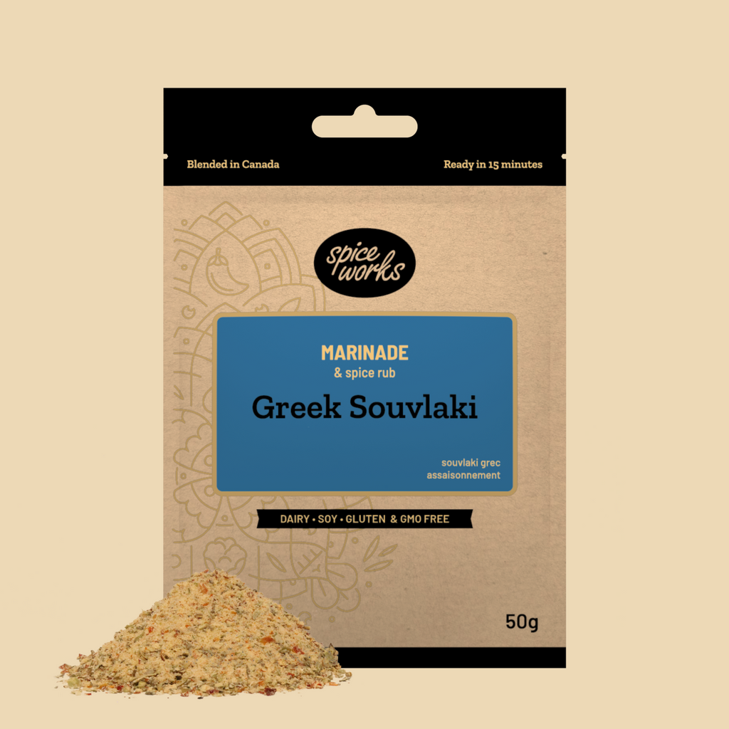 Spice Works- Greek Souvlaki Marinade
