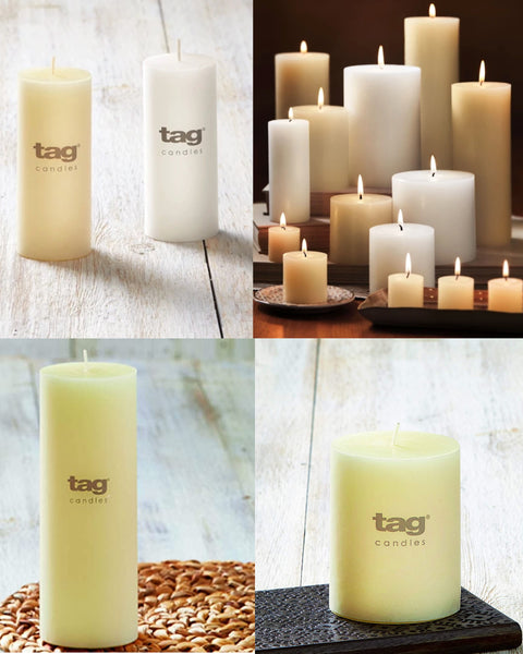 Pillar Candles-Tag Collection