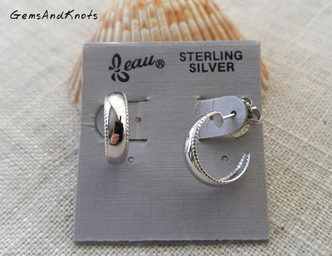 Beau Jewelry Sterling Silver Vintage Earrings