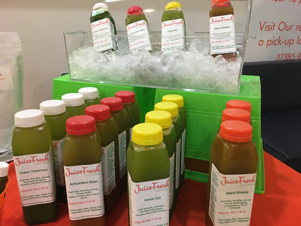 3-Day Juice Cleanse - organic (+shipping to home or office $35)