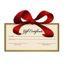 Gift Certificate 3-Day Juice Cleanse