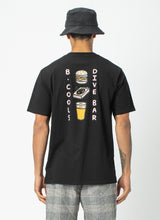 Load image into Gallery viewer, DIVE BAR TEE BLACK