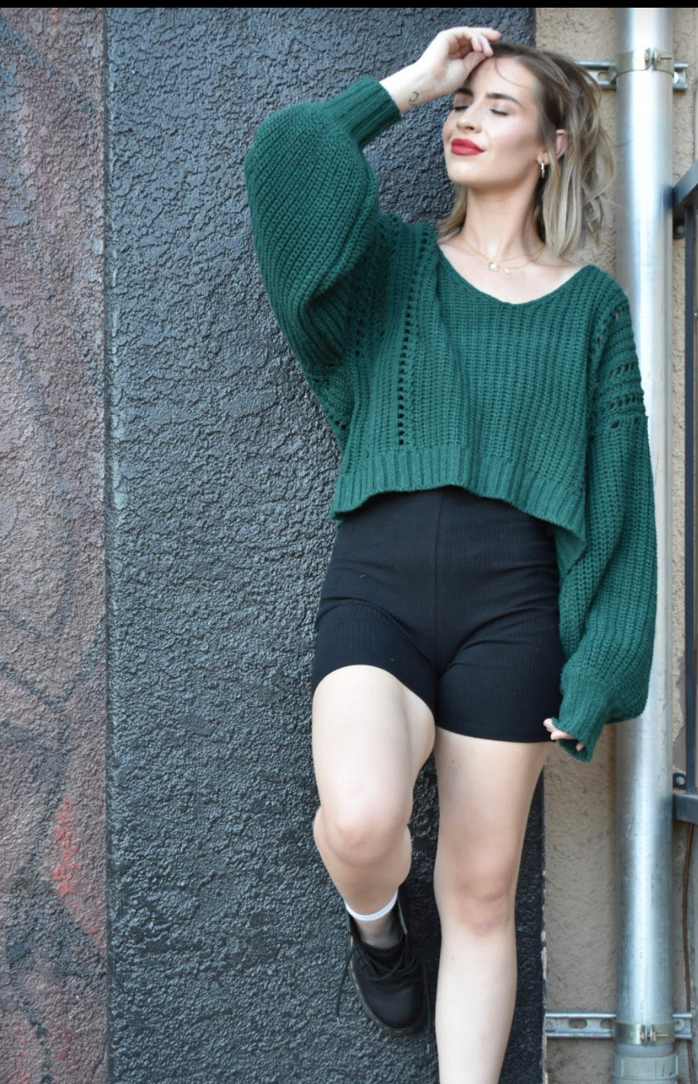Hunter Cropped Sweater